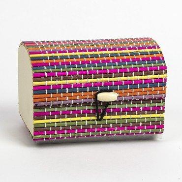 Caja Bambu Colores