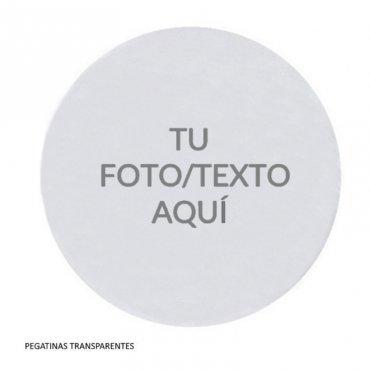 Pegatina Transparente Redonda (20)