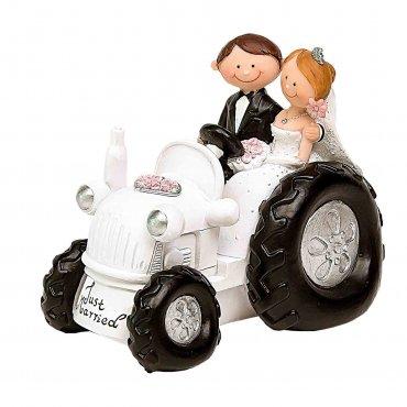 Figura Boda Tractor