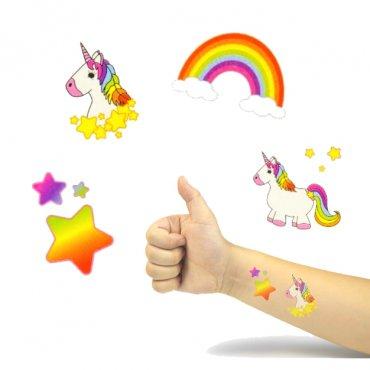 Tatuajes Unicornio Niños