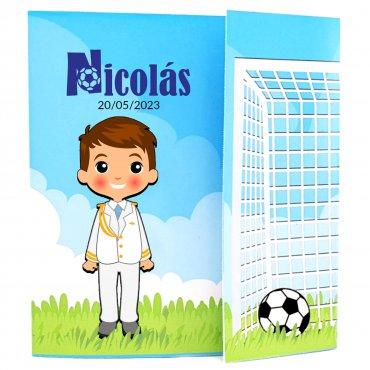 Invitacion Comunion Futbol