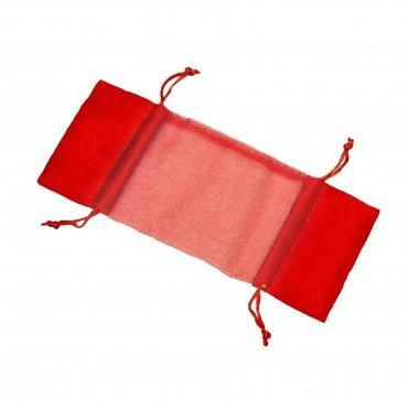 Sachet en Organza Bonbon Rouge