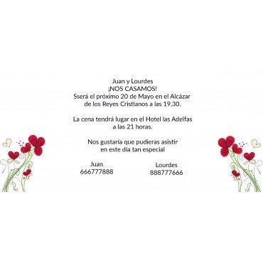 Invitacion Boda Baratas