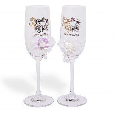 Copas Champagne Boda