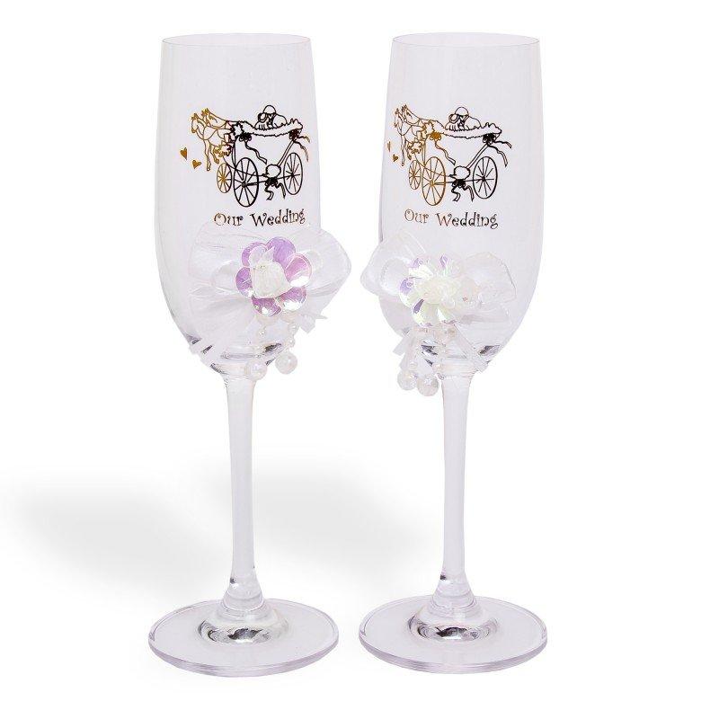 Copas champagne boda - Flutes a champagne originales ...