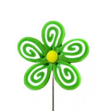 Broche Épingle Fantaisie Fleur