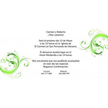 Invitaciones para Invitados de Boda