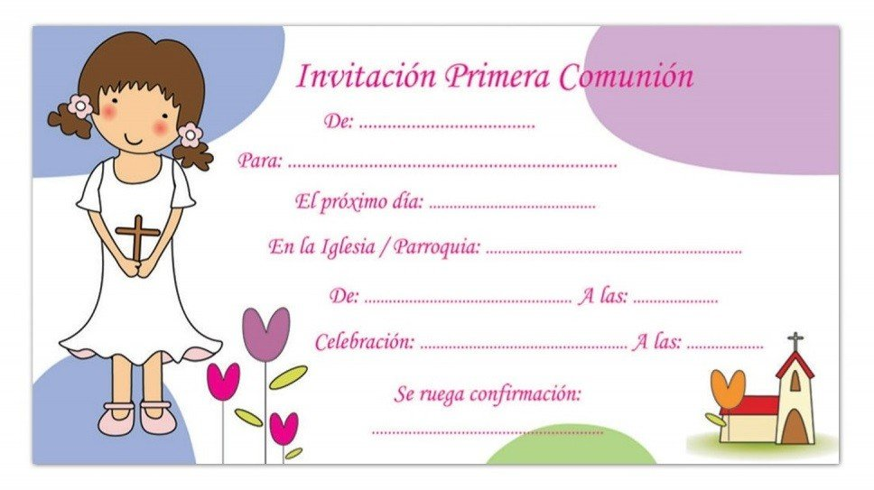 99+ ideas Invitaciones Para Primera Comunion on