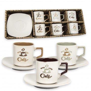 Tazas de Cafe (set de 6)