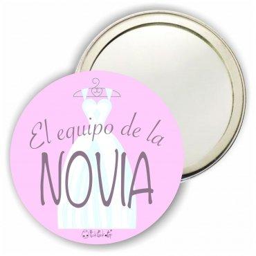 Espejos Chapa Boda