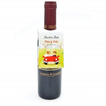 Presentacion Botellas Vino Bodas