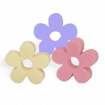Jabones en forma de flor